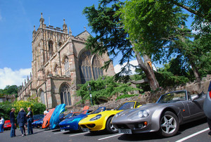 Club Marcos International Rally 2015 - Malvern