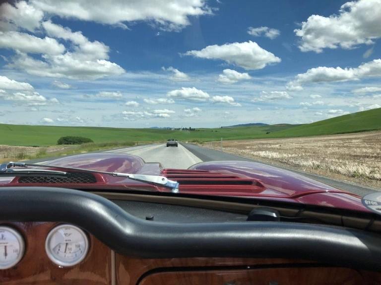 Marcos Mantula Spyder - Passenger's view