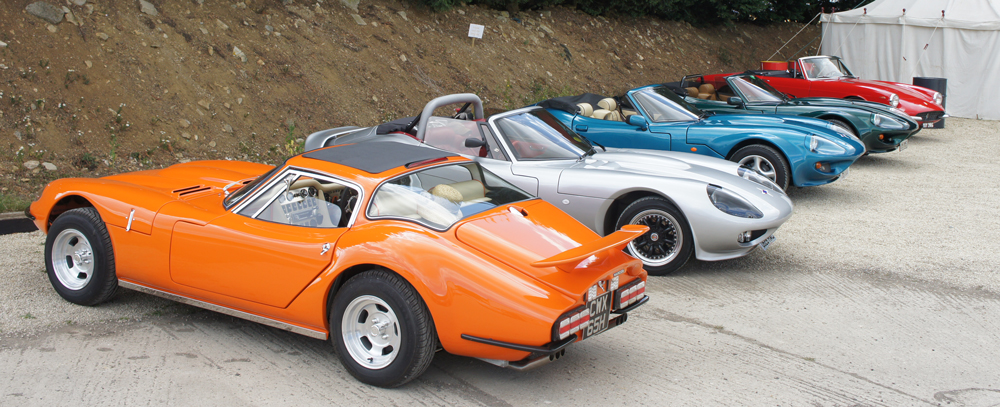 Marcos at Cotswold Collectors Cars